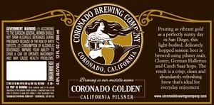 Coronado Brewing Company Coronado Golden