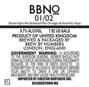 Brew By Numbers 01/02