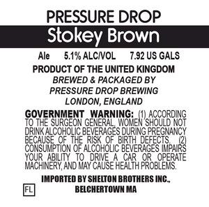 Pressure Drop Stokey Brown