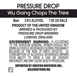 Pressure Drop Wu Gang Chops The Tree