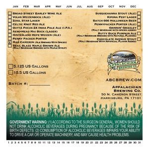 Appalachian Brewing Co Mad Cameron
