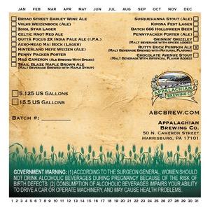 Appalachian Brewing Co Rutty Buck