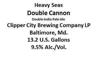 Heavy Seas Double Cannon