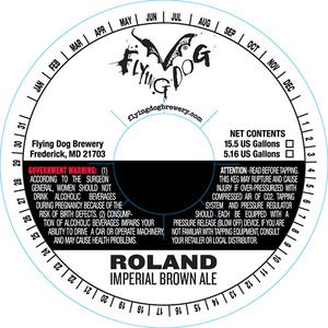 Flying Dog Roland Imperial Brown Ale