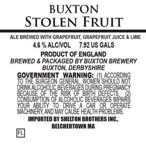 Buxton Brewery Stolen Fruit
