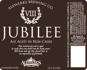 Williamsburg Alewerks LLC Jubilee Viii