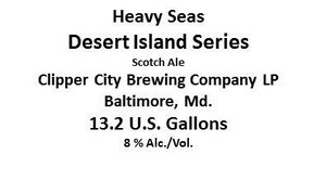 Heavy Seas Desert Island Series