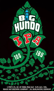 Magic Hat Big Hundo IPA October 2014