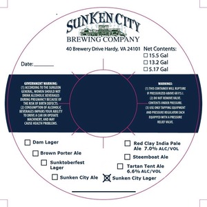 Sunken City Lager