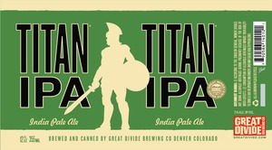 Great Divide Brewing Company Titan IPA