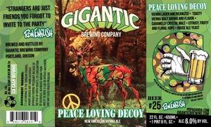Peace Loving Decoy