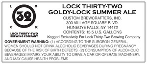 Lock Thirty-two Goldy-lock