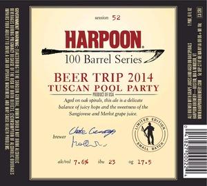 Harpoon Tuscan Pool Party
