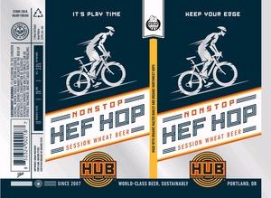 Hopworks Urban Brewery Non Stop Hefe Hop