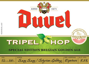 Duvel Tripel Hop October 2014