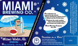 Miami Winter Ale