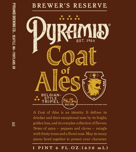 Pyramid Coat Of Ales
