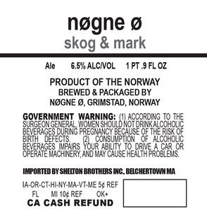 Nogne O Skog & Mark