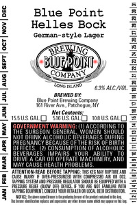 Blue Point Hellesbock
