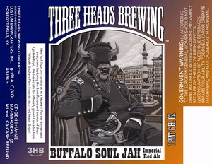 Three Heads Brewing Buffalo Soul Jah