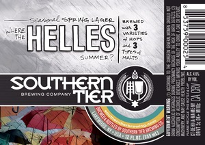 Southern Tier Brewing Company Where The Helles Summer?