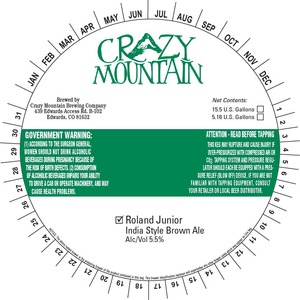 Crazy Mountain Roland Junior