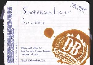 Devils Backbone Brewing Company Smokehaus Lager