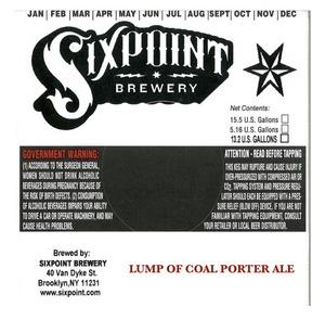Lump Of Coal Porter