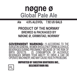 Nogne O Global Pale