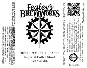 Fegley's Brew Works Return Of The Black