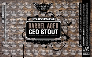 Right Brain Brewery Barrel Aged Ceo Stout