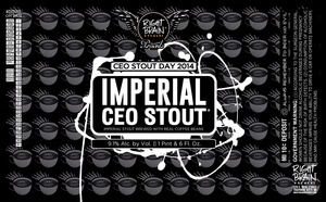 Right Brain Brewery Imperial Ceo Stout