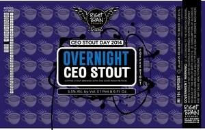 Right Brain Brewery Overnight Ceo