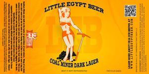 Little Egypt Coal Miner Dark Lager