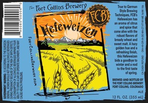 Fort Collins Brewery Hefeweizen