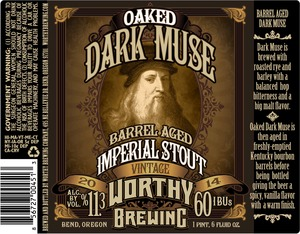 Worthy Oaked Dark Muse
