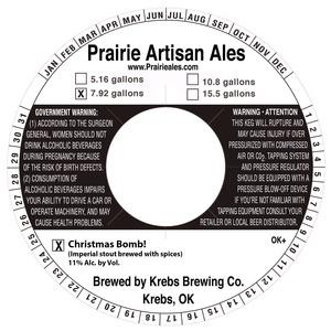 Prairie Artisan Ales Christmas Bomb