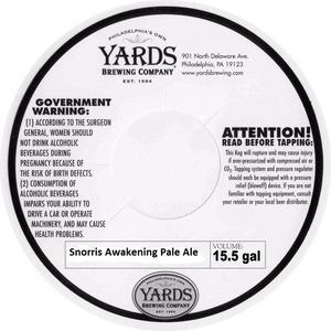 Yards Brewing Company Snorris Awakening Pale Ale