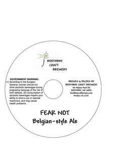 Boothbay Craft Brewery Fear Not