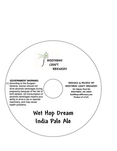 Boothbay Craft Brewery Wet Hop Dream