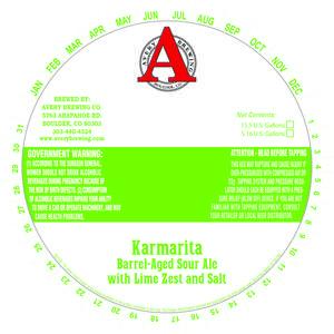 Avery Brewing Company Karmarita