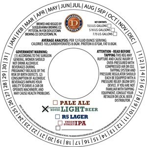 Doylestown Brewing Company Fountain House Light Beer