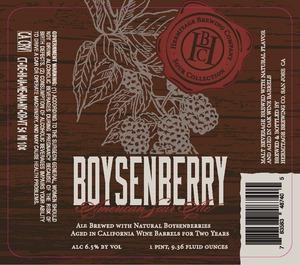 Hermitage Brewing Company Boysenberry