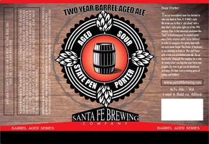 Santa Fe Brewing Co. State Pen Porter Aged Sour