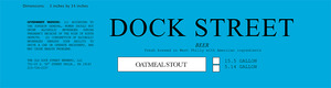 Dock Street Oatmeal Stout