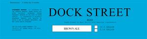 Dock Street Brown Ale