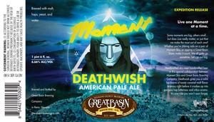 Great Basin Brewing Company Moment Deathwish
