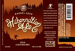 Great Divide Brewing Company Barrel Aged Hibernation