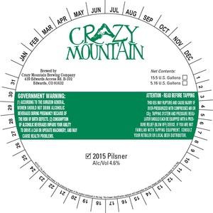 Crazy Mountain 2015 November 2014