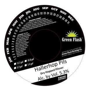 Green Flash Brewing Company Hallerhop Pils